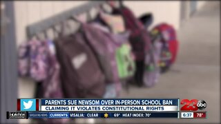 SoCal parents sue Gov. Newsom over in-person school ban