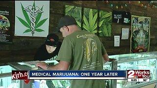 Medical marijuana: one year later