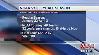 NCAA Volleyball Final Four Dates Set
