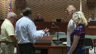 Neenah City Council honors local Olympic rower Maddie Wanamaker with Citation of Recognition