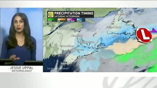 Icy conditions and damaging winds move across Atlantic Canada