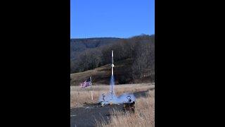 Maiden flight of my Little John rocket at VAST launch 11/8/20