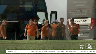 CWS teams arrive at Eppley; health dept. ready to provide vaccines