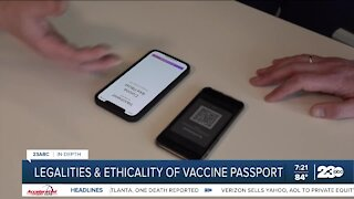 23ABC takes an in-depth look at vaccine passports