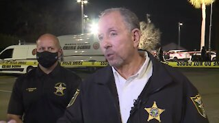 Martin County Sheriff William Snyder press conference on deputy-involved shooting