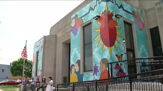 Milwaukee community artist shares special connection to site of her latest mural