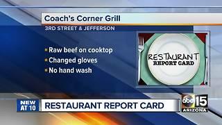Restaurant Report Card: 15 Valley restaurants fail September health inspections