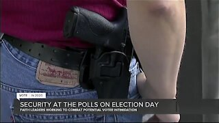 Polling places prepare as ban on open carry on Election Day brings mixed reactions