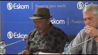 SOUTH AFRICA - Johannesburg - Eskom Press Briefing (Video) (qfc)