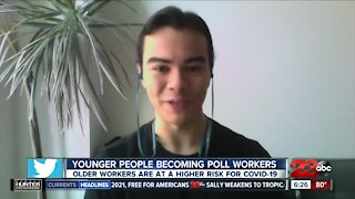 Group mobilizing younger people to work the polls