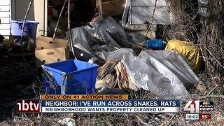 Neighbors, owner battle over Marlborough property