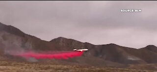UPDATE: Firefighters making 'good progress' on Sandy Valley Fire; 90% contained