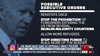 Joe Biden must wait to officially enact new policies