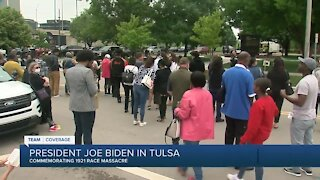 Pres. Biden commemorates the 1921 Tulsa race massacre
