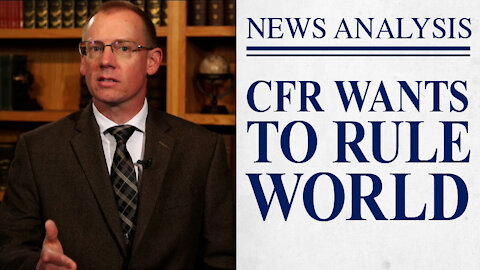 """A Reminder From the CFR: """"How to Rule the World"""""""