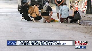 Family friends and community members mourn Scurlock, Gardner