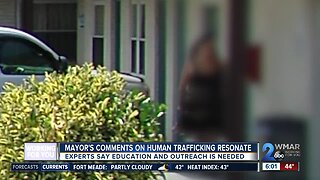 Mayor's comments on human trafficking resonate