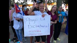 Rallies held across South Florida for Cuba
