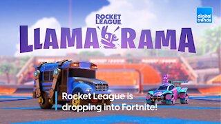 Fortnite Rocket League Crossover