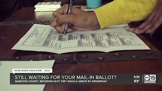Still waiting for your mail-in ballot?