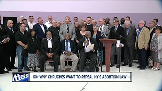 Churches unite to fight against NYS abortion law