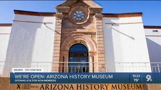 Arizona History Museum to reopen