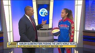 Harlem Globetrotters spin into Detroit