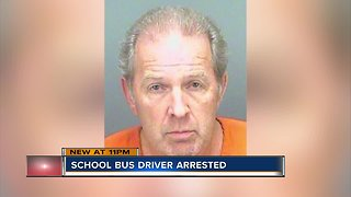 Detectives arrest school bus driver for sexual battery on child, believe there could be more victims