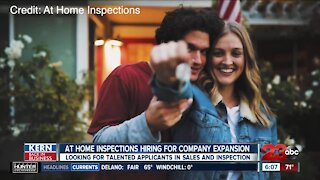 Kern Back in Business: At Home Inspections is hiring