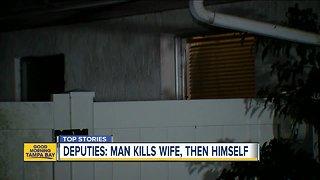 Deputies: Manatee County man kills wife, then self