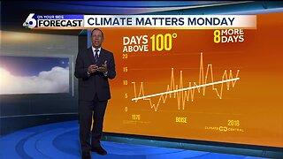 Climate Matters Monday - 100+ Days