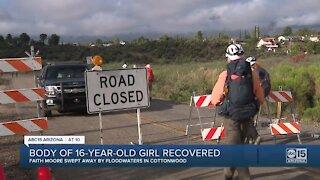 Body found in Cottonwood identified as missing teenage girl