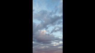 Clouds At Sunset *