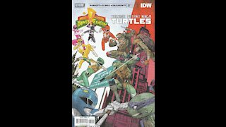 Mighty Morphin' Power Rangers / TMNT -- Issue 2 (2019, Boom / IDW) Review