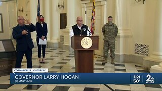 Governor Hogan urges people to stay home despite holidays