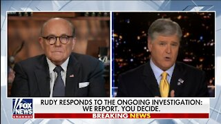 Rudy Giuliani: FBI Investigation Driven to Target Donald Trump