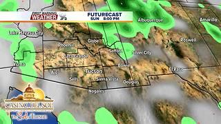 FORECAST: Heavy rain possible