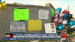 Foothill stabbing suspects' family speaks out for the first time