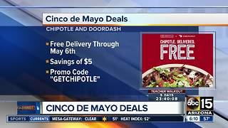 Cinco de Mayo deals around the Valley