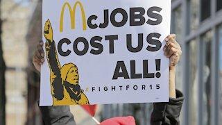 Fast-Food Workers Strike To Raise Federal Minimum Wage