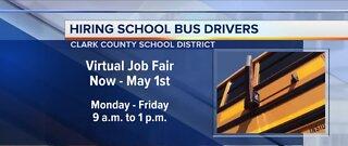 CCSD is virtually hiring bus drivers