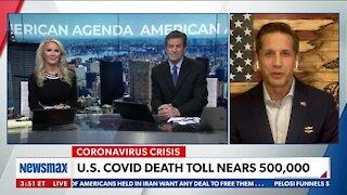 U.S. COVID DEATH TOLL NEARS 500,000