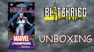 Marvel Champions Card Game Nebula Hero Pack Expansion Unboxing