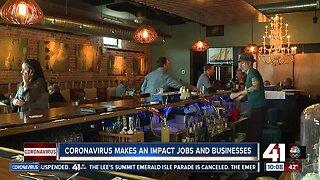Local businesses start to feel impact of coronavirus outbreak
