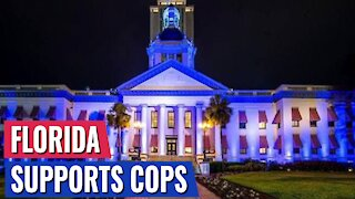 DESANTIS TO LIGHT THE FLORIDA CAPITOL BLUE IN SUPPORT OF POLICE