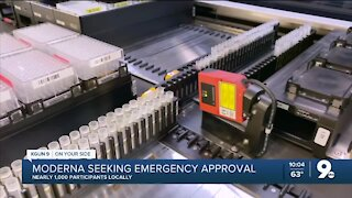 Moderna applies for emergency COVID vaccine approval