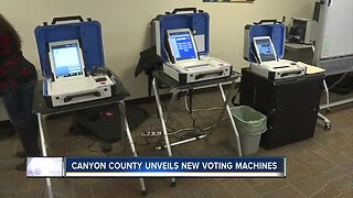 Canyon County unveils new voting machines