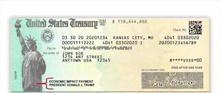 Stimulus checks in the mail