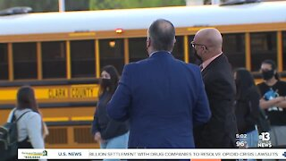 Clark County School District informs employees masks required inside CCSD buildings, schools