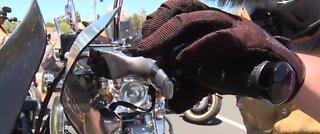 Memorial Day motorcycle parade